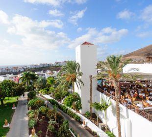 Blick von der Restaurant-Terrasse Fuerteventura Princess