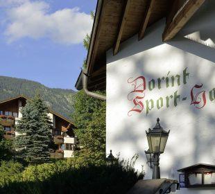 Hoteleingang Dorint Sporthotel Garmisch-Partenkirchen
