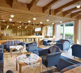 Hotelhalle - zum verweilen, plaudern & informieren Die Gams Hotel - Resort