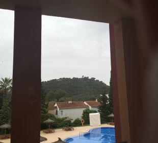 Ausblick aus demZimmer  Hotel Don Antonio