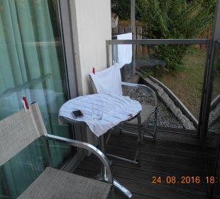 Zimmerbalkon Hotel Queen of Montenegro