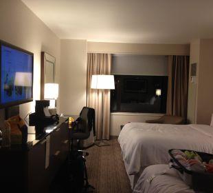 Zimmer 3407 zwei Queen-Size Betten Hotel Westin New York Grand Central