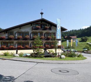 Neu renovierte Außenansicht Aktivhotel & Gasthof Schmelz