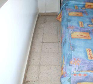 Boden  dreckig und ecklig Hotel Sousse Residence