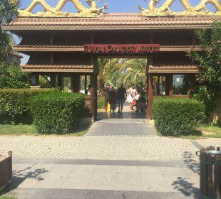 Weg vom Strand Hotel Royal Dragon