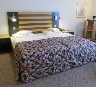 Doppelbett im Standardzimmer
