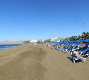 Lange Strandspaziergänge möglich Bungalows & Appartements Playamar