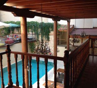 Sicht von der Galerie  Mediterra Art Hotel