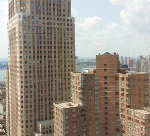 Blick aus dem 41. Stock Crowne Plaza Hotel Times Square Manhattan