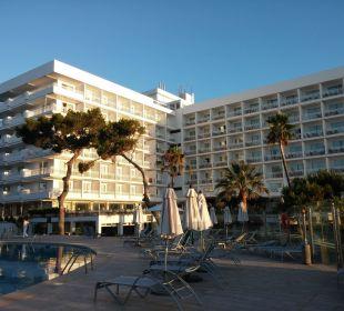 Hotel vom Pool Hotel Playa Esperanza