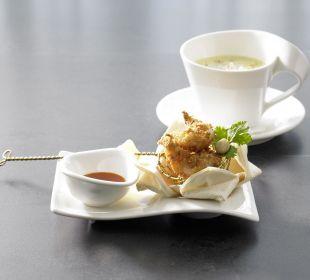 Kokos-Curry-Suppe im Öschberghof Der Öschberghof