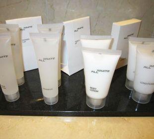 Bathroom amenities First Hotel Reisen