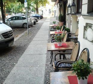 Blick nach Rechts Hotel Residenz Berlin
