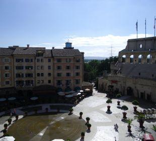 Blick aus dem Zimmer Hotel Colosseo Europa-Park