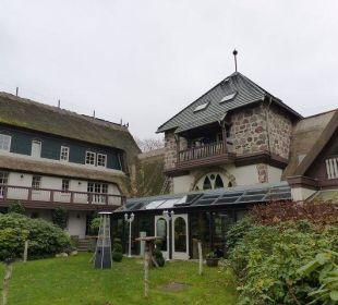 Der Innenhof Hotel Forsthaus Damerow
