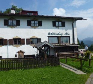 Hauptgebäude Alpenhotel Schliersbergalm