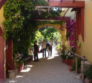 Eingang zur Hacienda Hacienda Los Andes
