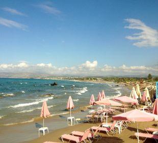 Strand direkt vor dem Hotel Hotel Corissia Princess
