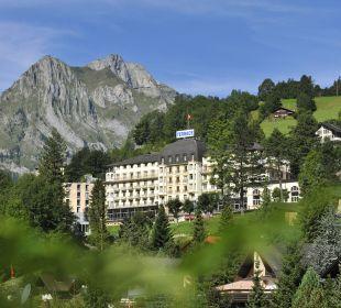 Aussenansicht Sommer Hotel Terrace