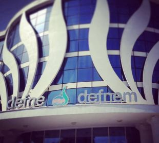 Eingang Hotel Defne Defnem