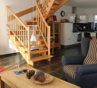 Küche, Wohn-, und Esszimmer Eve Resort & Spa
