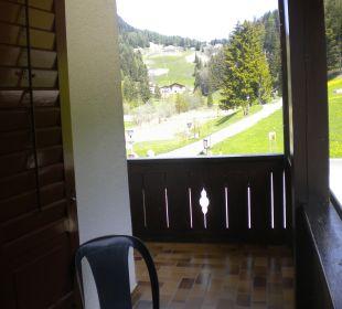Der Eckbalkon 2. Stock Gasthof zum Hirschen
