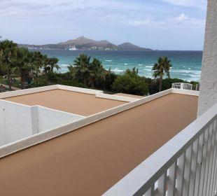 Blick vom Balkon Hotel Playa Esperanza