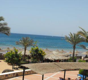 Blick zum Strand Jaz Dahabeya