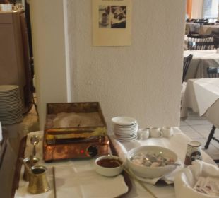Aug 16 - Frühstücksbuffet - Griech. Kaffee Hotel Elea Beach