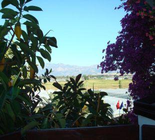 Aussicht von unserem Balkon Hotel Orkinos