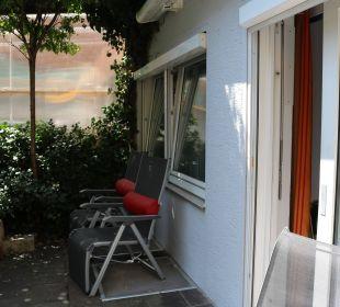 Terrasse Appartement A2 Kneipp- und WellVitalhotel Edelweiss