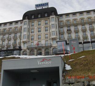 Hotelblick von außen Hotel Terrace