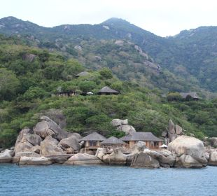 Hill Top Villa (oben) Hotel Six Senses Ninh Van Bay