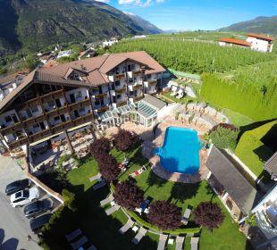 Luftaufnahme Dolce Vita Hotel Jagdhof Aktiv & Bike Resort