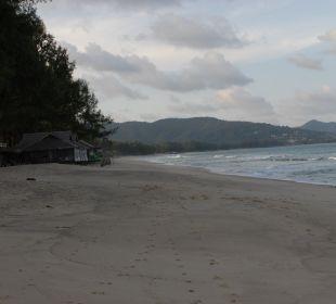 Der Strand soll am November besser sein Hotel Banyan Tree Phuket