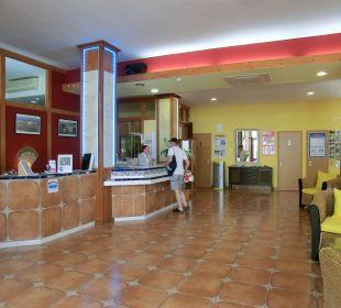 Rezeption Suitehotel Monte Marina Playa
