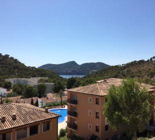 Ausblick Balkon Hotel Don Antonio
