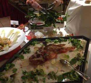 Fischbuffet Hotel Gartnerkofel