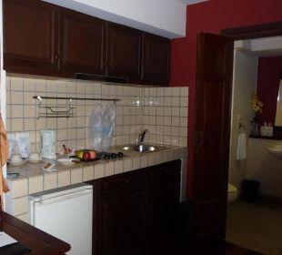 Küchenzeile im Executive-Zimmer Hotel Siam Heritage