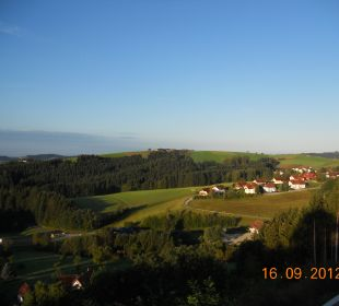 Wundervoller Ausblick vom Balkon Hotel Schatz.Kammer Burg Kreuzen