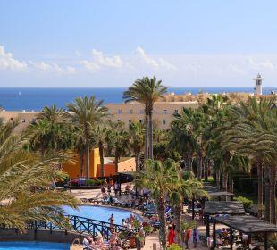 Ausblick über das Barcelo Jandia Pl Hotel Barceló Jandia Club Premium