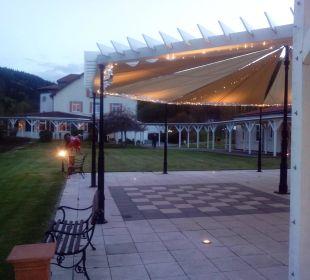 Blick von der QuBar aus gesehen Berghotel Ilsenburg