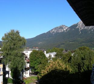 Blick in Richtung Ortsmitte Hotel Pension Erika