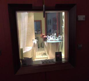 Fenster v. Zimmer z. Bad (Schalter durchsichtig) art'otel dresden