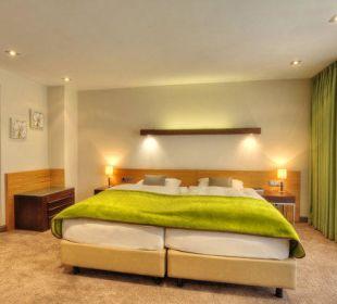 Großzügige Zimmer in den Dependance Der Öschberghof
