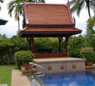 Der eigene Pool Hotel Banyan Tree Phuket