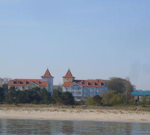 Hotel mit Strand
