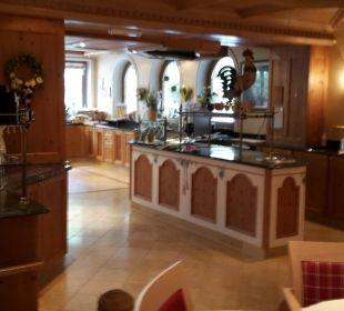 Buffetbereich  Olympia Relax Hotel Leonhard Stock