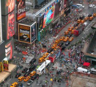 Leben in New York Crowne Plaza Hotel Times Square Manhattan