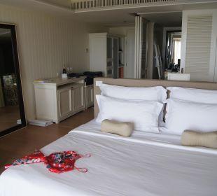 Zimmer (Sicht von Terrasse) Hotel Rest Detail Hua Hin